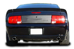 Couture Urethane Cvx Wing Trunk Lid Spoiler 3 Piece For 2005 2009 Ford Mustang