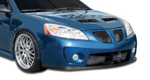 Duraflex Gt Competition Front Bumper Cover 1 Piece For 2005 2010 G6