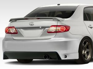 Duraflex Gt Concept Rear Bumper Cover 1 Piece For 2011 2013 Corolla