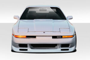 Duraflex Type G Front Bumper Cover 1 Piece For 1986 1992 Toyota Supra