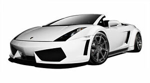 Af 1 Wide Body Kit Gfk 9 Piece For 2004 2008 Lamborghini Gallardo