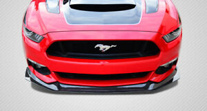 Carbon Creations Gt Concept Front Lip Air Dam Spoiler For 2015 2017 Ford Mustang