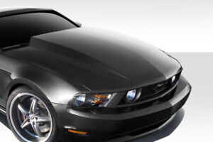 Duraflex 4 Cowl Hood 1 Piece For 2010 2012 Ford Mustang
