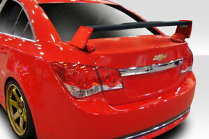 Duraflex Qtm Wing Spoiler 3 Piece For 2011 2015 Chevrolet Cruze