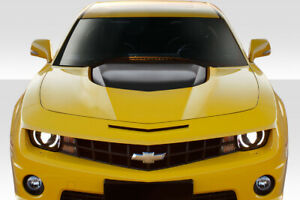 2010 2015 Chevrolet Camaro Duraflex Zl1 Version 2 Hood 1 Piece Body Kit