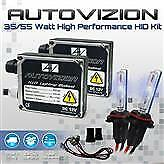 For 1990 2017 Honda Civic Fog headlight 35w 55w Hid Kit 9006 Autovizion Xenon