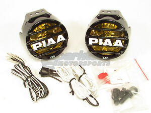 Piaa Lp530 Led Ion Yellow Driving Beam Kit Fog Lights Lamp 2500k 9 4w 22 05372