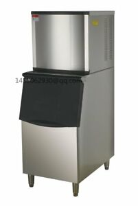 Commercial Restaurant Equipment Square Ice Maker Machine 350kg day Portable Comm