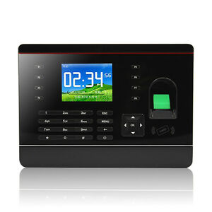 Tcp ip Fingerprint Time Attendance Terminal With 125khz Rfid Card Free Software