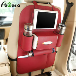 Car Back Seat Multi Pocket Vehicle Storage Bag Hanging Bags Organizer Lopping
