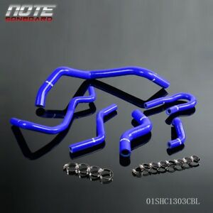 Silicone Radiator Hose Kit For 92 00 Honda Civic 1 6l Sohc D15 D16 Eg Ek