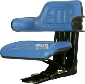 Ford 2000 2600 2610 3000 3600 3910 Tractor Seat Blue Apt