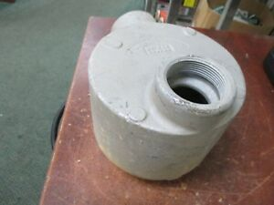 Crouse hinds Explosion Proof Condulet Box Guab 59 gujb 59 Used