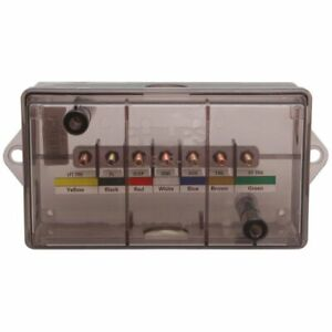 Philips Trailer Wiring Junction 7 Pole Box Weather Proof