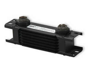 Earls 207erl Earls Ultrapro Oil Cooler Black 7 Rows Narrow Cooler 10