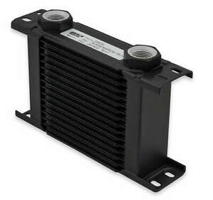 Earls 219erl Earls Ultrapro Oil Cooler Black 19 Rows Narrow Cooler 10