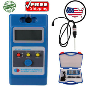 0 1mt 2000mt Lcd Digital Tesla Meter Gaussmeter Surface Magnetic Field Tester