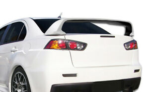 Duraflex Evo X Look Wing Spoiler For 08 17 Lancer lancer Evolution 10