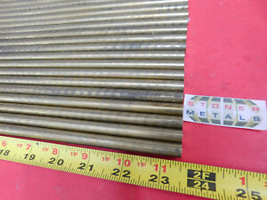 50 Pieces 7 16 C360 Brass Solid Round Rod 23 5 Long New Lathe Bar Stock H02