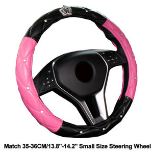 Girls Car Steering Wheel Cover Small Size 35 36 Cm 13 8 14 2 Steering Wheel