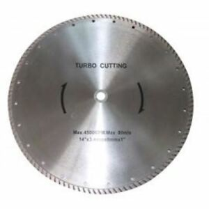 14 Diameter Turbo Diamond Saw Blade