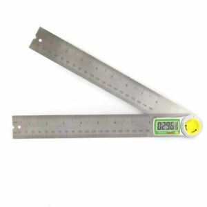8 Digital Led Read Out Angle Gauge Protractor Electronic Gage Protracter