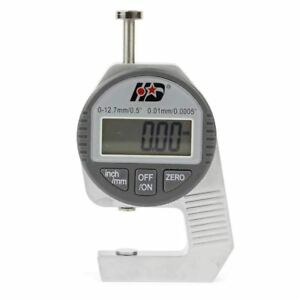 Electronic Lcd Digital Thickness Gauge Gage Metal Measuring