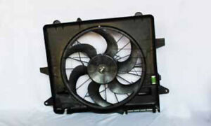 Dual Radiator And Condenser Fan Assembly Fits 05 14 Ford Mustang 621070 Tyc