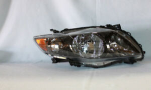 Headlight Assembly Rh pass Fits 09 10 Toyota Corolla 20 6993 90 1 Tyc