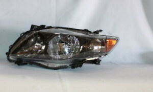 Headlight Assembly Lh drive Fits 09 10 Toyota Corolla 20 6994 90 1 Tyc