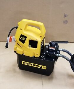Enerpac Zu4 Double Acting Hydraulic Pump For Your Press Cylinder Zu44208mb