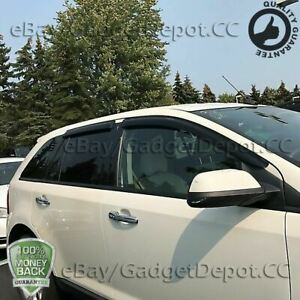 For 07 08 09 2010 2011 2012 2013 2014 Ford Edge Window Visor Vent Rain Deflector