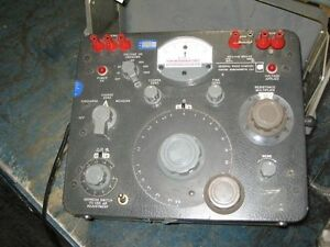 General Radio Company Megohm Bridge Type 1644 a
