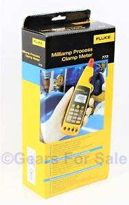Fluke 773 Digital Milliamp Process Clamp Meter Tester New In Box