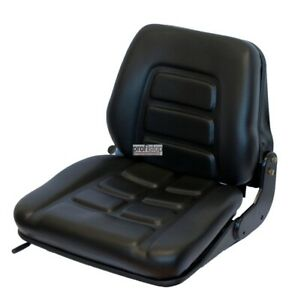 Forklift Seat Ps12 Gs12 Sweeper Lawn Tractor Backhoe Yard Loader Low Suspension
