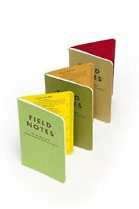 Field Notes Shenandoah Special Edition Graph Memo Books 3 pack 3 5x5 5 inch