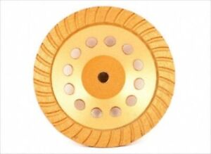 7 Diamond Face Cup Grinding Wheel For Grinder Concrete Granite Stone