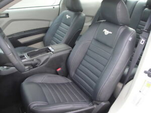 2005 2018 Ford Mustang Custom Leather Seats Conversion Kit front