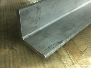 3 X 3 X 33 625 Long X 5 16 Wall 304 Stainless Steel Angle