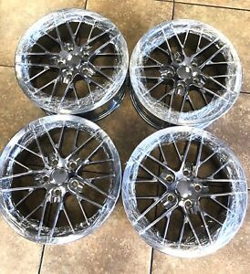 17 Camaro Trans Am Style Replacement Rims Wheels Staggered Chrome New Set Of 4