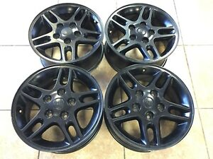 16 Jeep Wrangler Rubicon Grand Cherokee Oem Factory Rims Wheels Set Of 4 9041