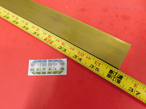 1 4 X 1 1 2 C360 Brass Flat Bar 36 Long Solid Mill Stock H02 25 x 1 50