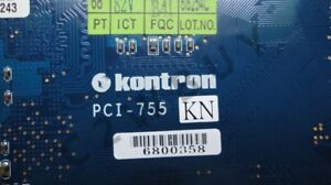 One Adlink Kontron Pci 755 High performance Long Industrial Card