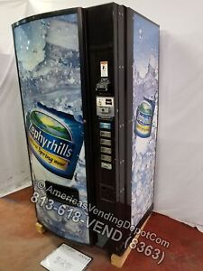 Dixie narco 501e Soda Machine 6 Selections Can Or Bottle Zephyrhills Front