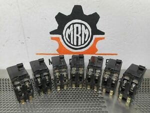 Square D Type Qo 40a Circuit Breakers 2pole 120 240v Hacr Warranty lot Of 7