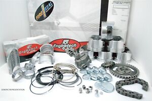 1990 1991 1992 Chevy Gm Car 350 5 7l V8 16v Premium Engine Rebuild Kit