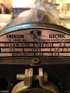 Emerson 1 4 Hp Electric Motor
