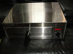 Nemco 6215 Electric Stainless Steel Counter Top Fixed Thermostat Pizza Oven
