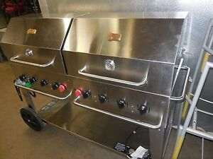 Used Crown Verity Mcb 60 60 Charbroiler Grill Propane