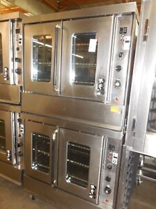 Used Montague Double Convection Oven Bakers Depth Nat Gas